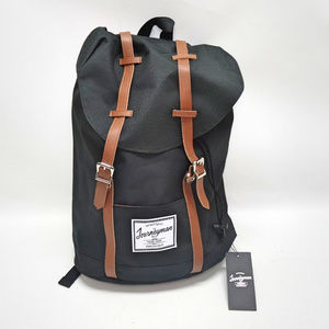 The Journeyman Bag Co. Black Cinch Backpack